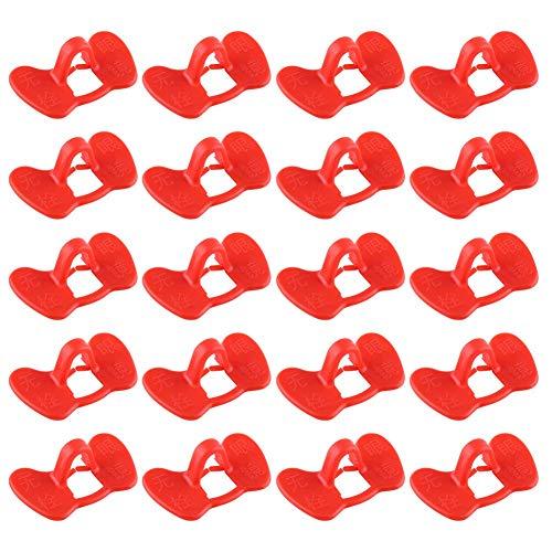 Lunettes en Plastique pour les Yeux de Poule Coq Équipement agricole Anti-picotements, Paquet de 20