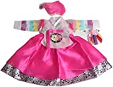 Pink Hanbok Girl Baby Korean Traditional Dress 1 Age First Birthday DOLBOK Dohl Costumes