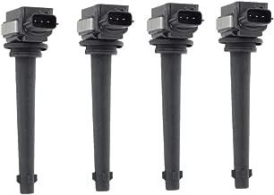 Set of 4 Ignition Coils Pack for Nissan Sentra 2007-2012 Tiida 2007-2010