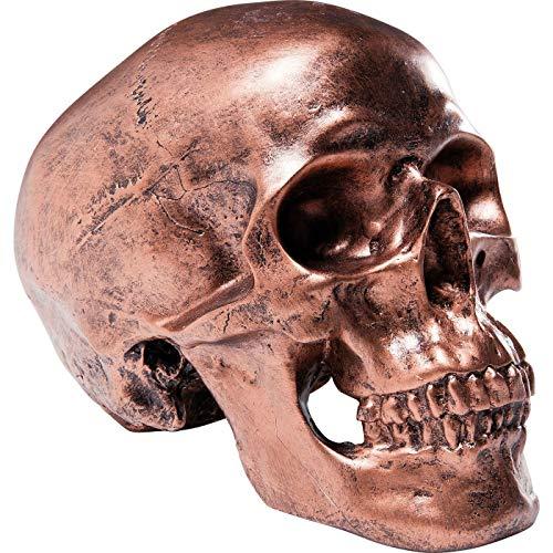 Spardose Skull Copper Antique von KARE DESIGN