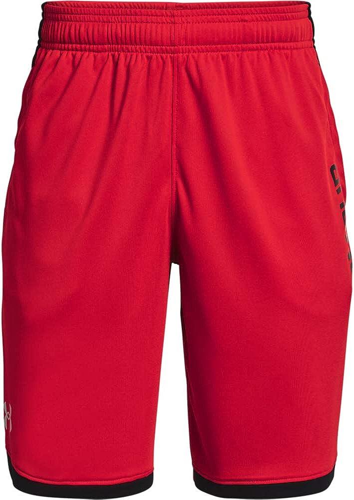 送料無料 新品 お気に入 Under Armour Boys' Shorts 3.0 Stunt