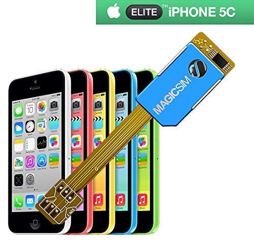 MAGICSIM ELITE para iPhone 5C - Adaptador Dual SIM