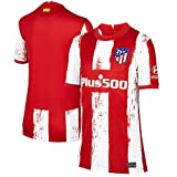 S&L Camiseta Home Atlético de Madrid Rojo 2021/22 para Hombre & Niño(Rojo,S)