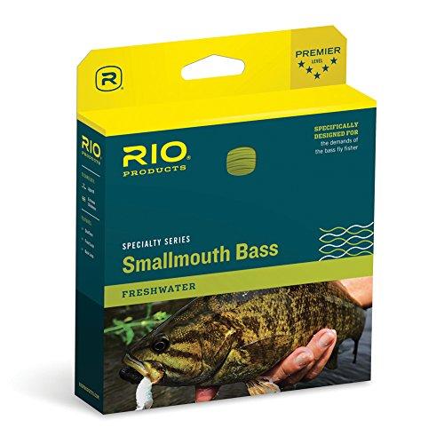 RIO Fly Fishing Fly Line Smallmouth Bass Wf7F Bronze/Beige Fishing Line, Bronze-Beige