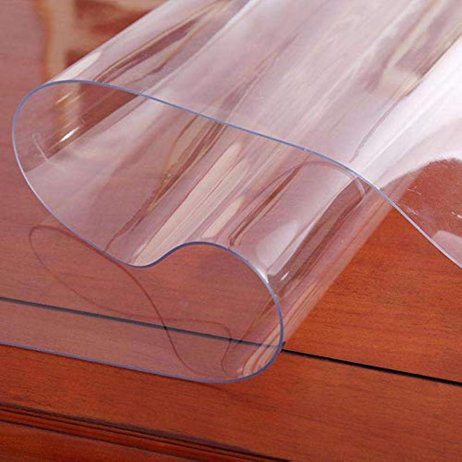 ほのめかす病気サポートチェアマット冷蔵庫 マット キズ防止 凹み防止 床保護マット 透明PVC マット デスク 椅子の下に敷くマット 傷防止滑り止め 机下/椅子/フロア/畳/床暖房対応900*600(mm) …