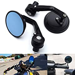 Color: black Package Includes: one pair (Left & Right) Motorcycle rear-view mirror | Fitment: | Universal fits for all motorcycles 7/8'' 22mm bar end | window.adminAccountId=234776163. Aftermarket 100% New Good Working Condition and Easy to Install...