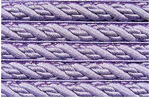 Be-Creative Piping FLANGED Cord Upholstery Cushions Costumes - 1 Meter (Lilac)
