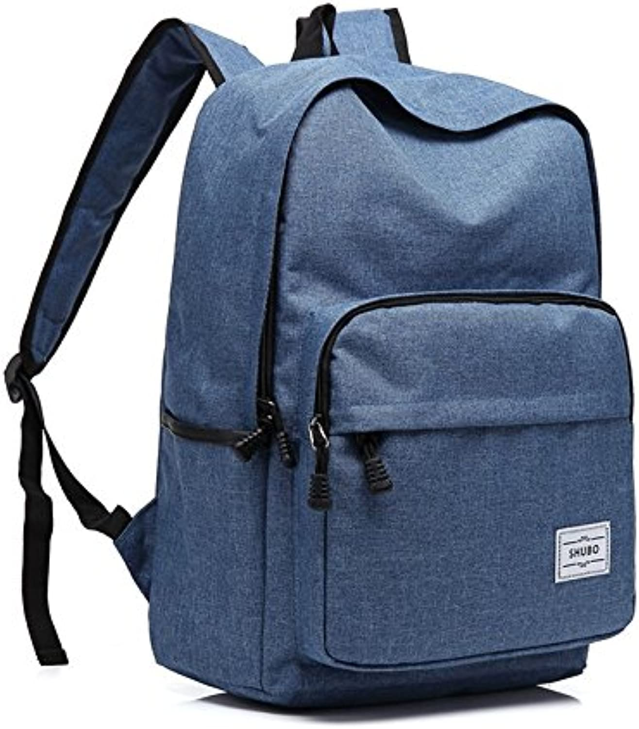 Men's and Women's Travel Bags Korean Youth AntiTheft Backpack Fashion Tide Casual Shoulder Bag 29cm14cm44cm, bluee
