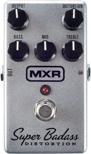 MXR MXR M75 Super BADASS DISTORTION - Distorción de efectos para guitarra eléctrica - Overdrive - Fuzz...