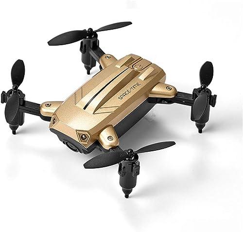 Mini Drone Pliable avec caméra, Quadricoptère de Poche portable WiFi Quadcopter, 3D Flips, Cadeau d'hélicoptère RC pour Enfants Adultes