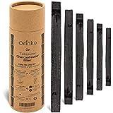 orinko - Binchotan Bio 6X | Charbon Actif Takesumi de Bambou pour Purification d'eau | Passez-Vous des Eaux en Bouteille avec Notre Charbon Actif [𝗦𝗮𝘁𝗶𝘀𝗳𝗮𝗶𝘁𝗼𝘂𝗥𝗲𝗺𝗯𝗼𝘂𝗿𝘀𝗲]