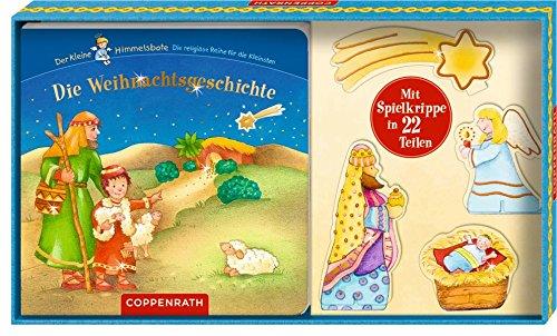 Die Weihnachtsgeschichte: (Buch mit Spielkrippe in Geschenkverpackung)