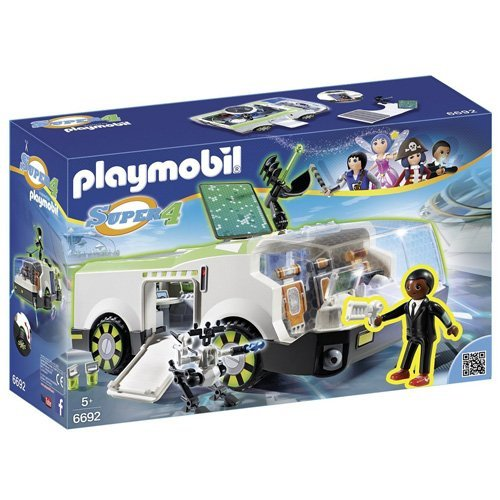 PLAYMOBIL- Techno Chameleon with Gene Playset, Multicolor (