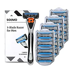 Value pack includes one handle and sixteen 5-blade razor cartridges MotionSphere multi axis pivot designed to follow the contours of your face; Beard trimmer for shaving goatee, sideburns and under nose Less than $1.35 per refill for future razor hea...