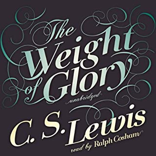 The Weight of Glory audiobook cover art