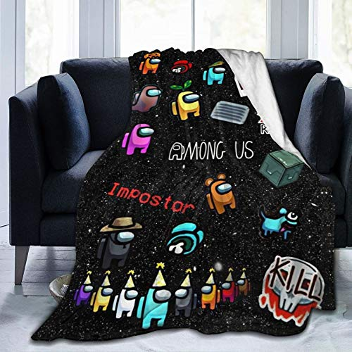 UltraSoft Micro Fleece Blanket Imposter Throw Soft Flannel Blanket for Bedding Sofa and Travel 50quotx40quot
