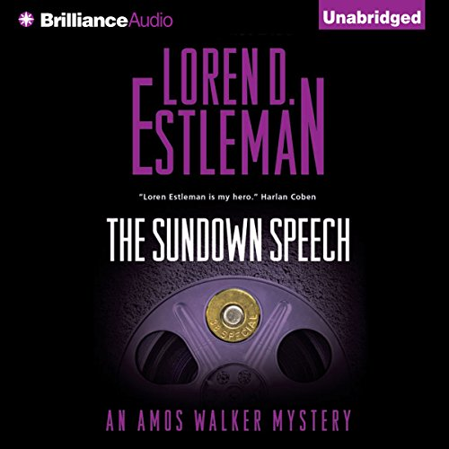 The Sundown Speech audiobook cover art