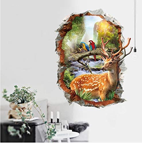 ahjs456 DIY Cartoon Winnie The Pooh Animal Measurement of Height Wall Stickers Nursery Kids Room Home Decor Mural Decal Poster