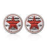 Johnny's Chop Shop Original Sheen Men's Hair Pomade Strong & Slick Hold,
