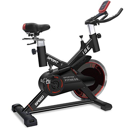 ISE Vélo d'appartement Ergomètre Vélo d'entrainement...