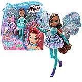 Winx Club Layla | Cosmix Fairy Puppe beweglichen holografischen Flügeln