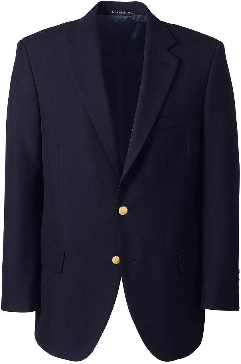 Lands' End School Uniform Men's Hopsack Blazer