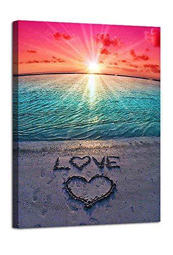 Love Sunset Poster for Wall Decor