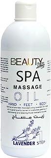Beauty Palm Lavender Massage Oil, 1000 ml