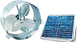Brightwatts Premium Solar Attic Fan, (25 Watts)