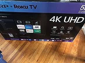 Sharp 4K UHD LED 2160p Smart TV with HDR Roku TV (LC-55LBU591U) - 55