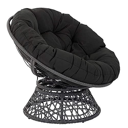 Cuscini per sedie pensili per amache a Uova Cuscini per sedie pensili per amache a Uova Senza Supporto, Rimovibili Impermeabili Senza Supporto Cuscini per sedili a Dondolo Patio Garden-Bianc