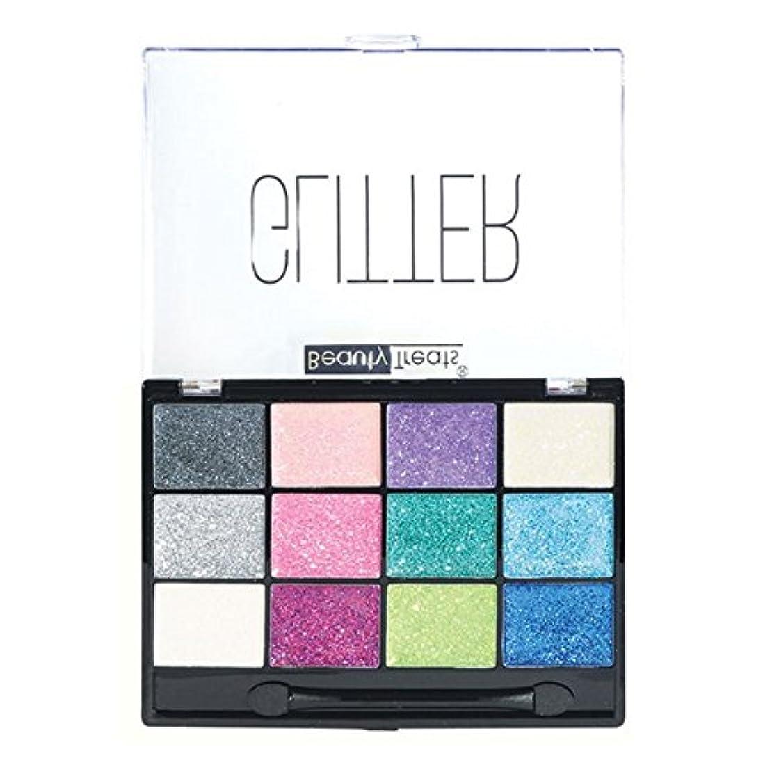 めるアレイコショウ(3 Pack) BEAUTY TREATS Sparkle Glitter Palette 1 (並行輸入品)