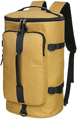 Lym-sac Sac à Dos Anti-vol, randonnée Alpinisme en Plein air randonnée imperméable à l'eau lumière Seau Cylindre Sport Sac à Dos Kaki