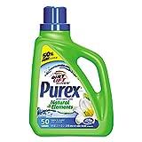 Purex Ultra Natural Elements HE Liquid Detergent, Linen & Lilies, 75 Oz