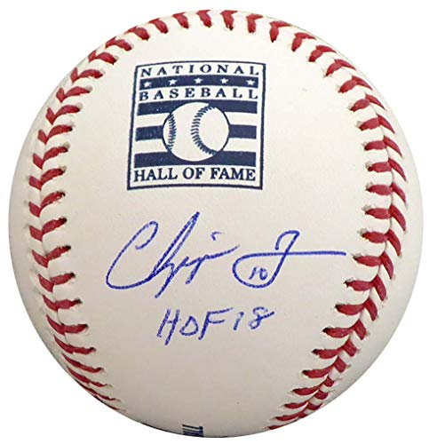 Chipper Jones Atlanta Braves MLB Hand Signed Official Baseball