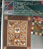 Heartland Quilt. March 1999. Checkerboard Heart