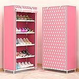 DFYYQ 6 Niveles Impermeables Zapatos Stand de pie Zapato de pie...