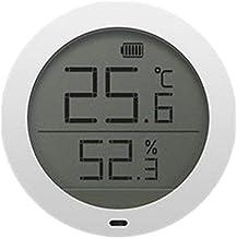 NA YAJJA Higrómetro Digital Termómetro, la Humedad del termómetro de Interior del Monitor, Humedad Relativa y Temperatura calibrador del Metro, con Indicadores Confort
