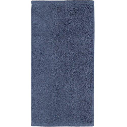 Cawö Home Handtücher Life Style Uni 7007 Nachtblau - 111 Handtuch 50x100 cm