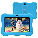 Contixo 7' Kids Tablet V9-3 Learning Toy Android 9.0 Parental Control Tablets 2GB RAM 16GB Touchscreen HD Display WiFi Camera Education Apps on Google Certified Play Store Best Gift (Light Blue)