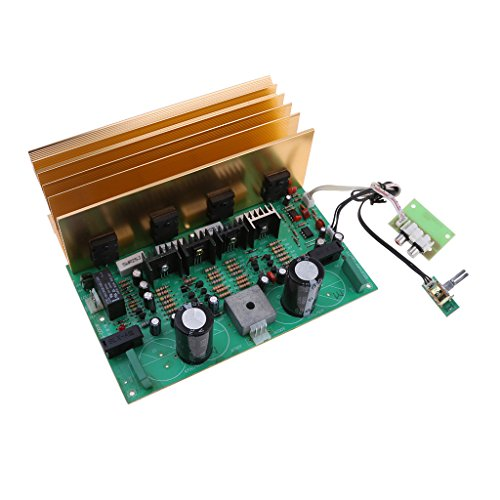 Almencla El Tablero del Amplificador De Potencia del Subwoofer Mono del Poder Más Elevado 500W KTV para 6inch - 12inches Altavoz Bajo Pasivo