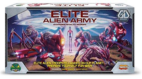 Ares Games - 330082 - Galaxy Defenders - Elite Alien Army