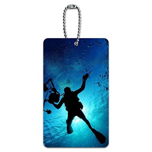 Scuba Diver - Immersione Subacquea ID Tag Bagagli Card Valigia Carry-On