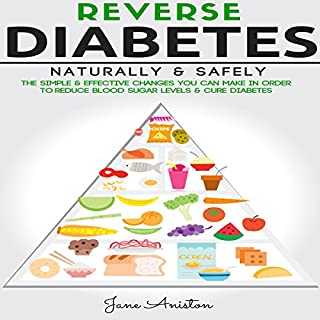 Reverse Diabetes Naturally & Safely audiobook cover art