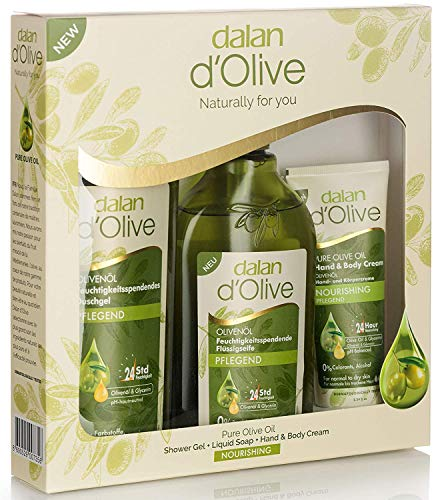 Dalan d'Olive Body Care Set