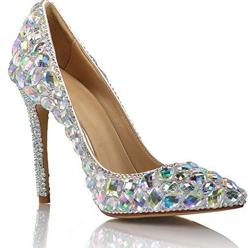 Zapatos de tacón alto para mujer, zapatos de moda europeos y americanos,...