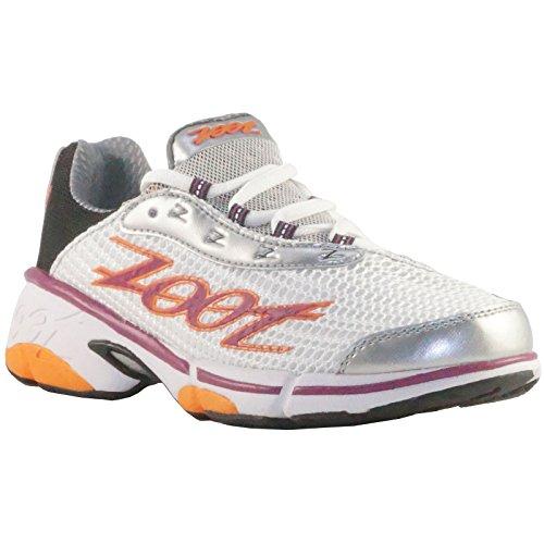 Zoot Energy 2.0 Laufschuhe Damen weiß/pink/orange/schwarz, Schuhgröße:EUR 37, Farbe:weiß/pink/schwarz