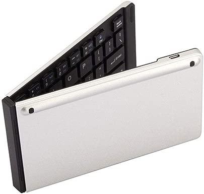 Klappbare Bluetooth-Tastatur Ultrad nne Mini-Bluetooth-Tastatur Doppelt faltbare Bluetooth-Tastatur Tragbare drahtlose Aluminiumtastatur eignet sich sehr gut for Redakteure und Menschen die h ufig re Schätzpreis : 53,23 €