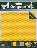OZ International - Papel origami (15 x 15 cm, 20 unidades), diseño de estrellas