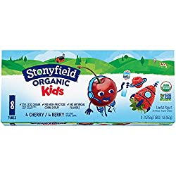Stonyfield Organic Kids Cherry & Berry Lowfat Yogurt 8-2 oz. Tubes